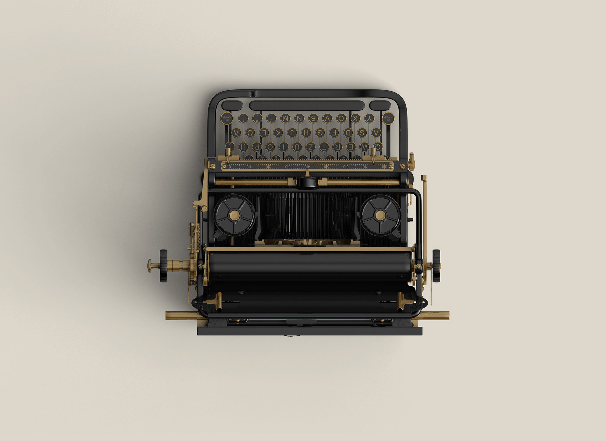 Old Typewriter - VisualMentor WordPress Theme